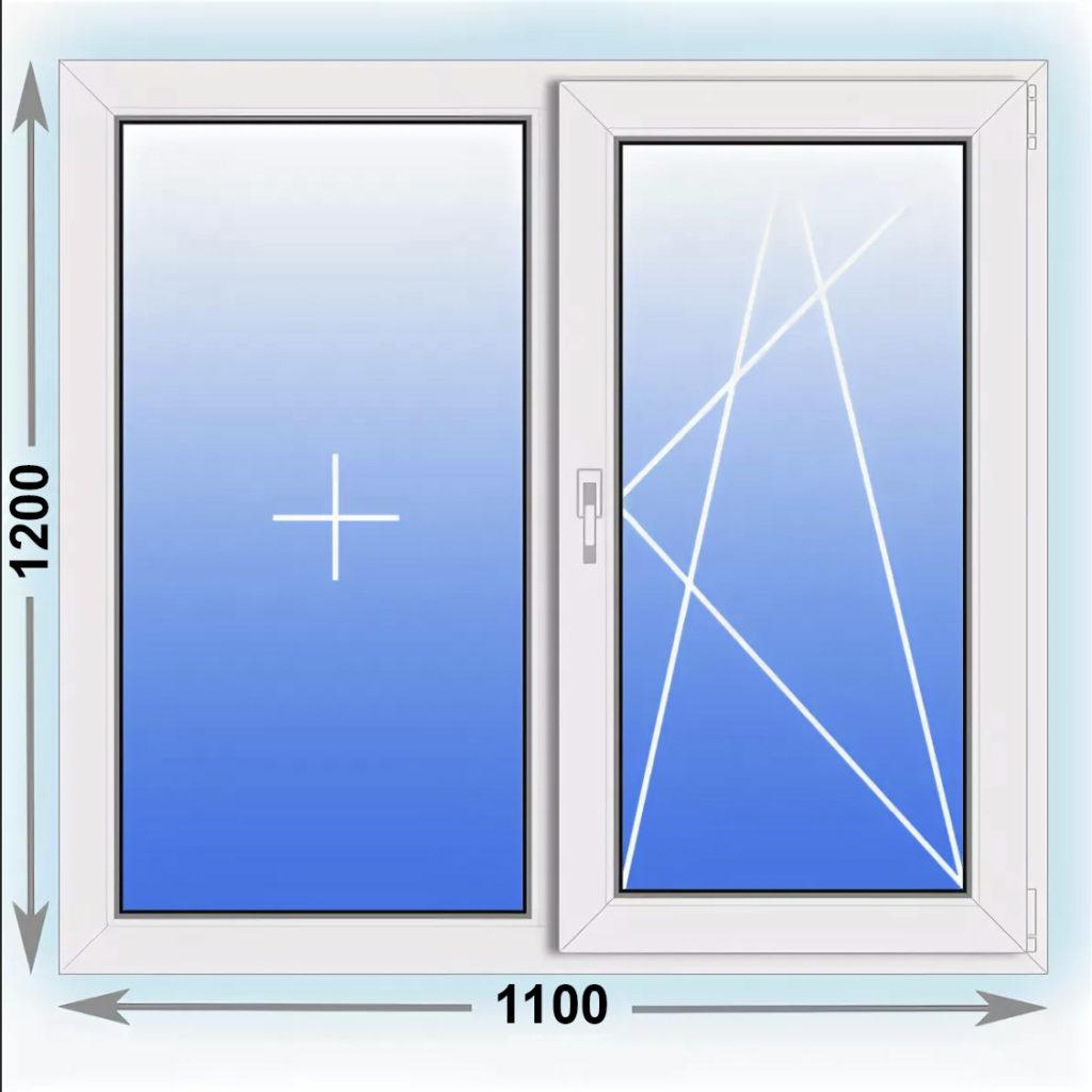 окно 1200x1100