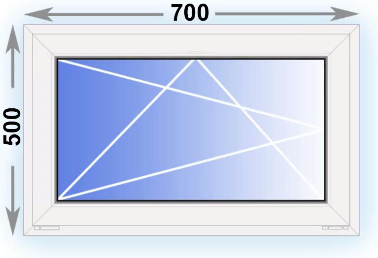 окно 500x700